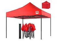 3M x 3M Heavy Duty Gazebo complete with four sides.