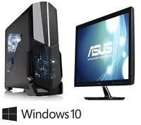 New Budget 10 Piece Gaming Package - With Monitor