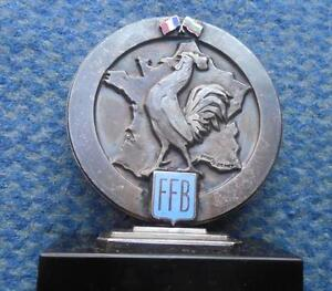 FRANCE BULGARIE BOXE BOXING MATCH OLD VIEUX RARE SILVER ARGENT PLAQUE - <span itemprop='availableAtOrFrom'>Wroclaw, Polska</span> - FRANCE BULGARIE BOXE BOXING MATCH OLD VIEUX RARE SILVER ARGENT PLAQUE - Wroclaw, Polska