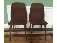 Vintage 1970s style chairs