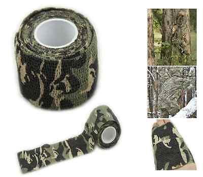 Tarnband Klebeband Gewebeband Camo Camouflage Army Tape Isolierband Ducttape
