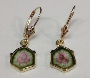 tourmaline pink earrings cut trillion s barkev