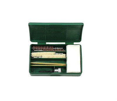 Pistol Cleaning Kit 8+ Pieces! Brushes + FREE Cleaning Brush! 9mm .357 .380 Gun