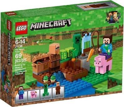 Lego Set 21138 Minecraft The Melon Farm