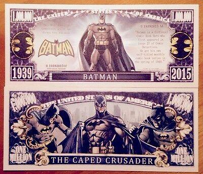 Batman Million Dollar Bill