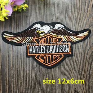 """Harley Davidson Embroidered Patch - 4.7"""" x 2.36"""" - NEW London Ontario image 2"""