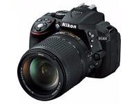 New DSLR camera Nikon D5300 18-140 VR Kit