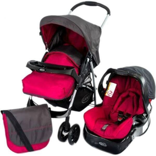 Graco Rock Candy Travel System in Pink - Unused