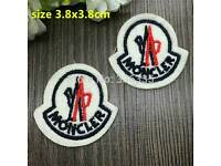 X10 moncler iron on patch badges only 10 pounds free post