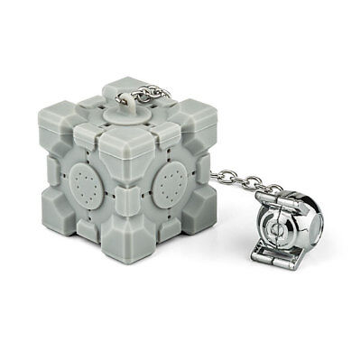 Portal 2 Weighted Companion Cube Tea Infuser w Personality Core Wheatley Space - Portal Companion Cube