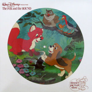 Fox and the Hound/Walt Disney Picture Disc/LP + bonus lp