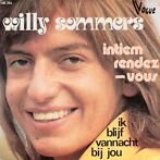 Single vinyl / 7 inch - Willy Sommers - Intiem Rendez-vous