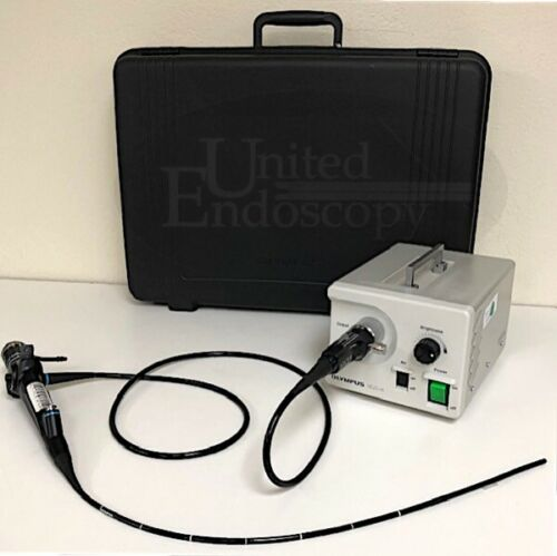 OLYMPUS  BF-P40 / CLK-4 Fiber Bronchoscope set Endoscope, Endoscopy