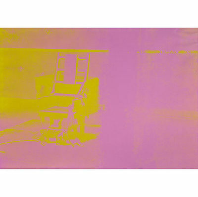 Andy Warhol, Electric Chair, 1971 Original Pop Art print