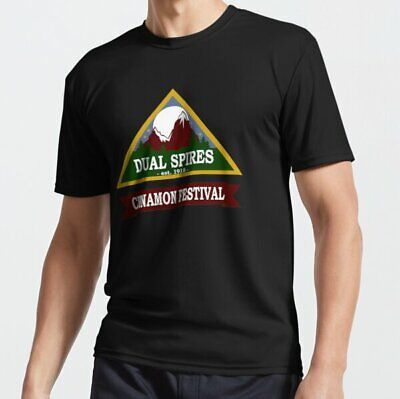 Psych - Dual Spires Cinnamon Festival Active T-shirt