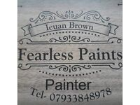 Fearless Paints. A painter and Decorator at your service