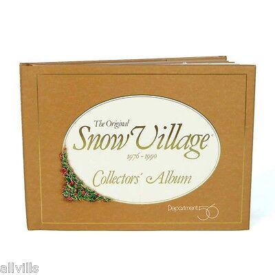 """The Original Snow Village Collector's Album: 1976 – 1990"" Product #SVC90"