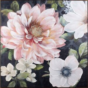 EXOTIC NIGHT GARDEN Floral Painting Print Canvas Wall Art Flower Camp Hill Brisbane South East Preview