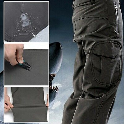 Classic Outdoor Shark skin Soft Shell TAD V 4.0 Camouflage Waterproof Mens Pants