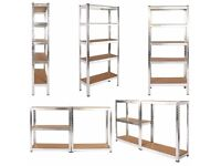 Metal Racking Garage Shelving Warehouse 5 Tier Storage Unit Shelf Heavy Duty
