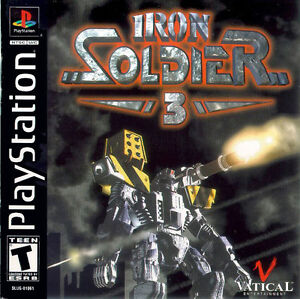 Iron Soldier 3 For PS1