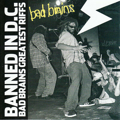 Bad Brains – Banned In D.C.: Bad Brains Greatest Riffs CD with (Banned In Dc Bad Brains Greatest Riffs)