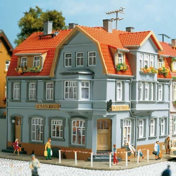 Auhagen 12249 Gauge H0/Tt Corner House # New Original Packaging #