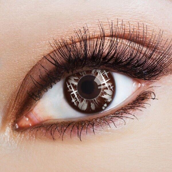 aricona Farblinsen Big Eyes bunte, farbige Manga Kontaktlinsen ohne Stärke