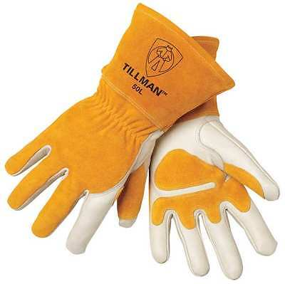 Tillman Mig 50l Top Grain Split Cowhide Welding Gloves - Size Large