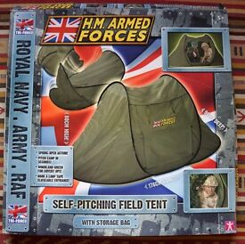 HM Armed Forces popup play tent