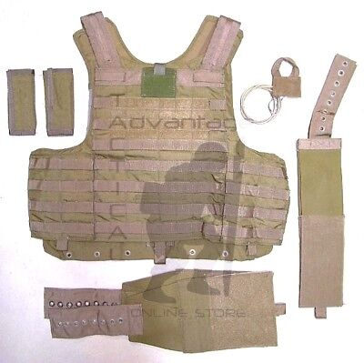 Eagle CIRAS LE Maritime MOLLE Releasable Armor Carrier - LARGE - coyote brown for sale  Concord