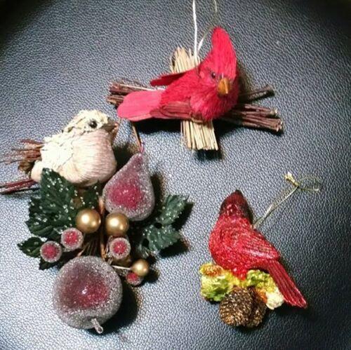 Christmas Ornaments - Birds