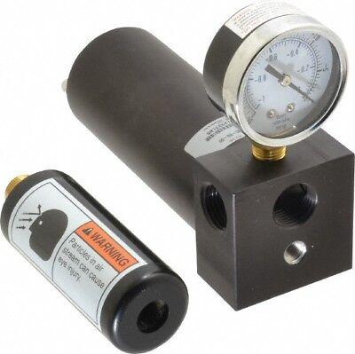 Gast 17 CFM Open Flow Venturi Single Stage Vacuum Generator 1/2 FPT Vacuum Po... for sale  Melville