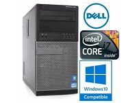 Dell Optiplex 790 Desktop PC * i7-2600 * 8GB RAM * 500GB HDD * Windows 7/10 * UK Postage