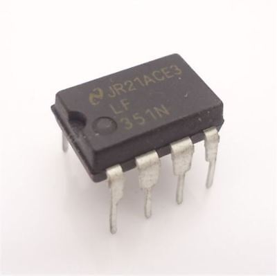 Speed Op Amp - 20Pcs LF351N LF351 High Speed Wide Bandwith J-Fet Op Amp Ic New bh