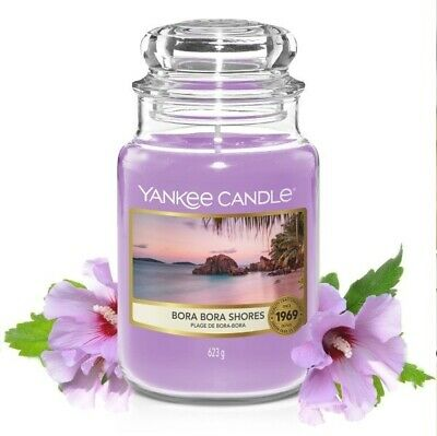 Yankee Candle Yankeecandles Candela Profumata Giara Grand 623g Bora Bora Shores