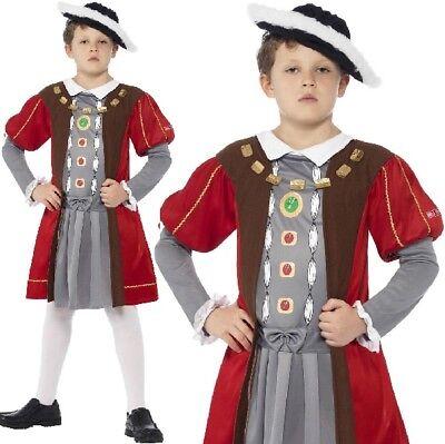 Kinder Schreckliche Geschichten König Henry VIII Modisches Kleid - Henry Viii Kostüm Kind