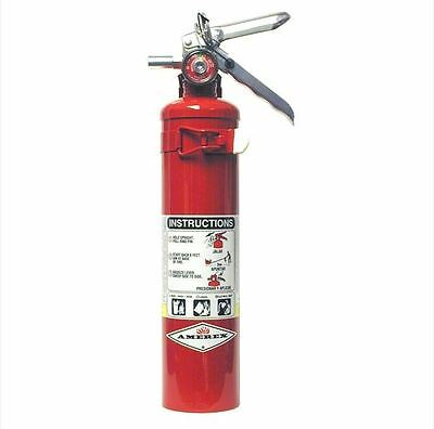 Amerex B417t 2.5 Lb Abc Fire Extinguisher With Wall Bracket