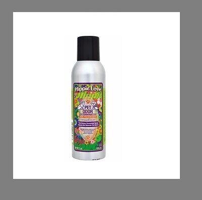 "Pet Odor Exterminator Spray "" Hippie Love ""  Room Deodorizer"