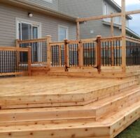 Decks fences and more references and insured