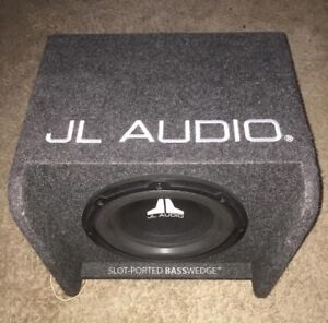 "JL Audio 10"" Ported subwoofer for sale"