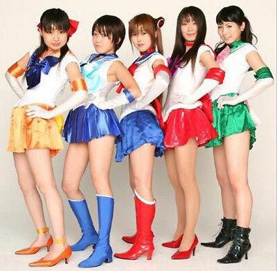 Hot Sailor Moon Costume Kostüm Cosplay Anime Uniform Fancy Dress Gloves Kleidung
