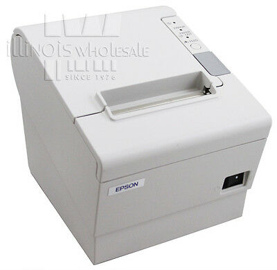 Epson Tm-t88iv Pos Thermal Printer Micros Idn Interface Cool White