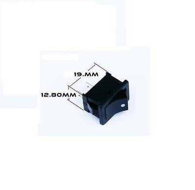 1 Pack 2 Pin Rocker Toggle Momentary Switch Spst On Off 6 Amp 250v 10 Amp 125v