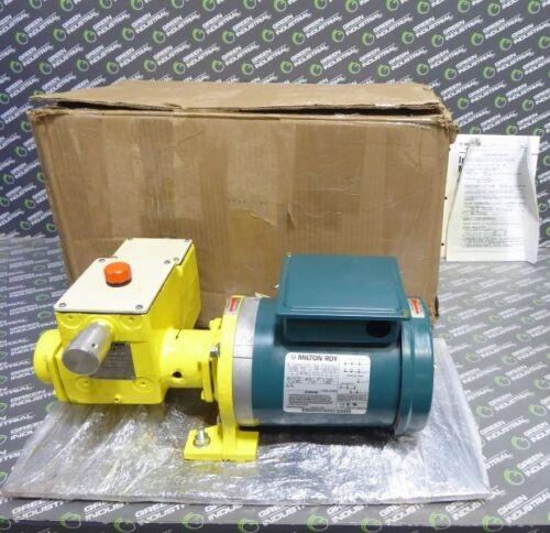 NEW Milton Roy 15CBM4CCNNSE Metering Pump .126 GPH 115/208-230V