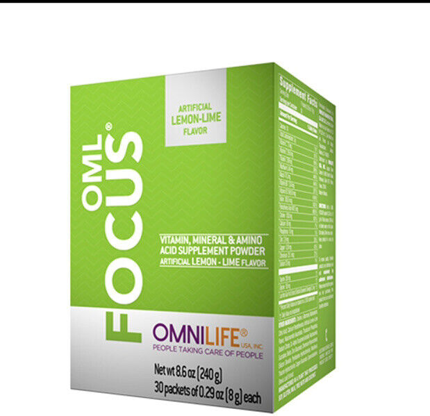 OMNILIFE OML FOCUS (OPTIMUS SUPREME) AIDS Memory-brain & concentration FREESHIP