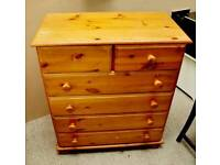 SALE NOW ON!! - Pine Chests Of Drawers - Can deliver for £19