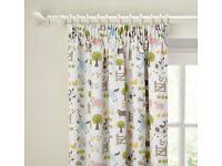 Nursery Farm Curtains by John Lewis Little People