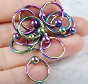 Lots of different piercing jewelry asking $1-$2 each call5395573
