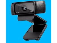 Logitech HD Pro Webcam c920 Brand New In Box with Full HD Streaming + Stereo Audio New was £89.99